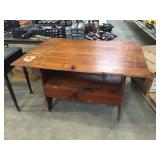 KNOTTY PINE BENCH TABLE