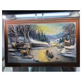 Abner Zook 1978 3D Painting