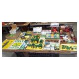 JOHN DEERE TOYS AND SIGNS