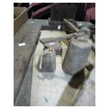 EARLY CAST IRON SCALE WEIGHTS