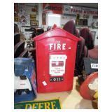 RETRO FIRE ALARM BOX