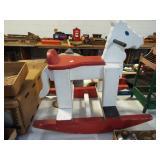 CHILD FOLK ART HORSE