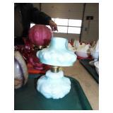 ANTIQUE NUTMEG LAMP
