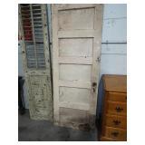 ANTIQUE DOOR AND SHUTTER