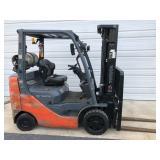 #4 Toyota 8FGCU25 5000lb Forklift
