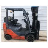 #5 Toyota 8FGCU25 5000 lb Forklift