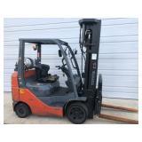 #6 Toyota 8FGCU25 5000 lb Forklift