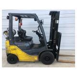 #7 Toyota 8FGU15 3000 lb Forklift