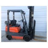 #10Toyota 42-6FGCU15 3000 lb Forklift