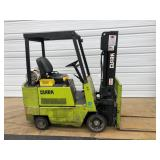 #12 Clark GCS17S 3500 lb Forklift