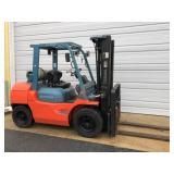Toyota 7FGU35 8000 lb Forklift