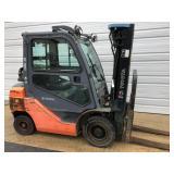 Toyota 8FGU25 5000 lb Forklift