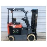 Toyota 7FBCU25 5000 lb Battery Powered Forklift