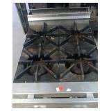 4-Burner counter top range