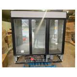 True 3 Door Freezer GDM-17