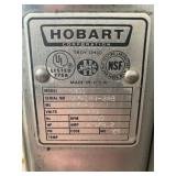Plate on Hobart Meat Saw