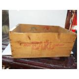 EARLY WOOD FRUIT BOX