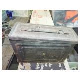 METAL AMMO MILITARY BOX