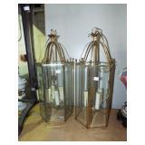 2 FANCY HANGING LAMPS