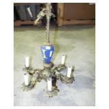 WEDGEWOOD TYPE HANGING LAMP