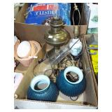 ANTIQUE LAMPS AND PARTS