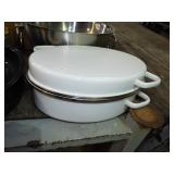 QUALITY COVERED ROAST PAN