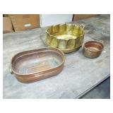 MISC. BRASS AND COPPER POTS