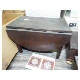 SMALL DOLL SIZE DROP LEAF TABLE