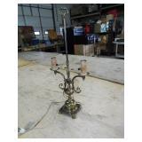FANCY METAL LAMP BASE
