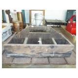 SECTIONED WOOD TOOL TRAY