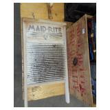 MAID-RITE WASH BOARD