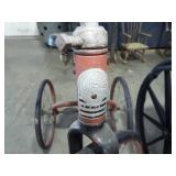 MARKING ON FRONT OF HIGH-WHEEL TRICYCLE