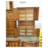 INTERIOR OF STEP BACK CUPBOARD