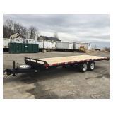 2005 20ft flatbed trailer