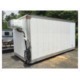 2012 Kidron 16ft Reefer Box