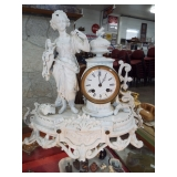 EARLY FRENCH FIGURAL CLOCK