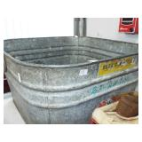 ANTIQUE GLAVANIZED WASH TUB