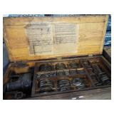 EARLY TOOL SET WITH ORIGINAL BOX