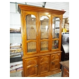 RETRO BREAKFRONT CHINA CABINET