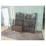 FANCY WROUGHT IRON CEMETERY GATES