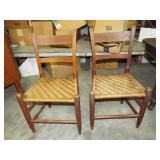 SPLINT SEAT CHAIRS