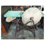 PEDAL SEATED GRINDSTONE