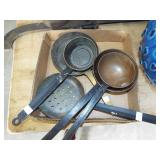 COPPER AND METAL LADLES