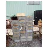EARLY 24 DRAWER CABINET