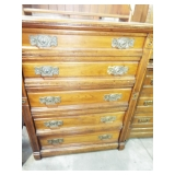 EARLY 5 DRAWER CHEST