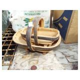 WOOD WOVEN BASKETS