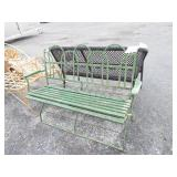 HAIRPIN STYLE PARK BENCH