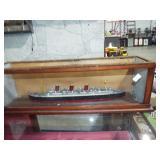 ENCASED SHIP  MODEL