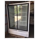 Powers 2-door merchandising cooler