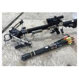 Center Point Sniper 370 Crossbow with Arrows